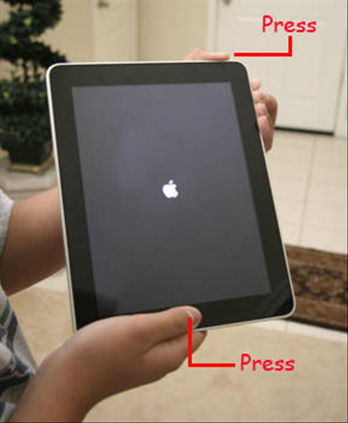 Как сделать перезагрузку на планшете