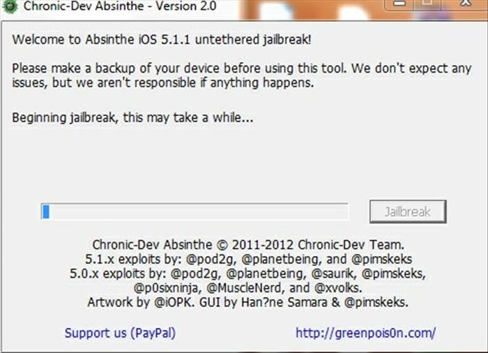 2123 300x219 Как сделать непривязанный джейлбрейк iOS 5.1.1 на iPad 1, iPa